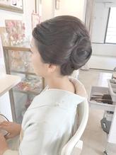 和装のお着物スタイルで♪前髪もアップ♪ アップスタイル.49