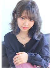 ネイビーアッシュ☆シースルーバング☆.32