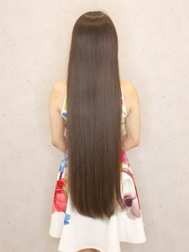 ◆大人女子 触れたくなるナチュラルストレート 暗髪 黒髪 ロング