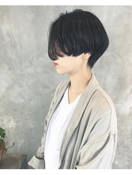 [helvetica hair] Vogue short