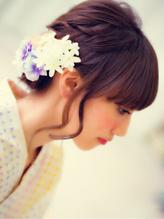 キレイ女子☆浴衣HAIRセット ガーリー.43