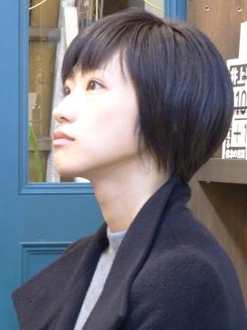上品で女性らしいクールショート[下北沢/髪質改善/縮毛矯正]