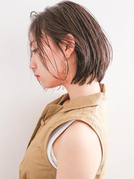 【石井知希】超簡単スタイリング!ストレートオイルボブ