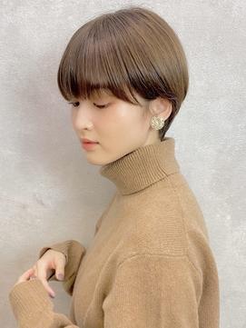 耳掛けがかわいい☆大人マッシュショート【BEKKU 恵比寿】吉永