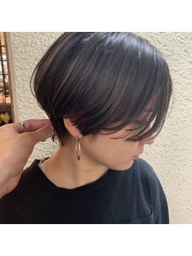 【新宿 studio noll.佐田 真幸】ハンサムショート_190601