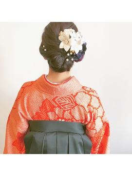 卒業式袴スタイル*