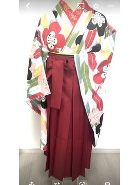 卒業式袴と着物 50