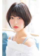 【HONEY表参道】透明感丸みのあるショートボブ(山本剛).39