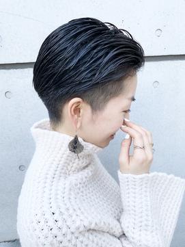 【morio成増/米村】スリーク刈り上げ女子黒髪