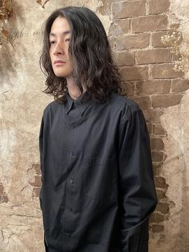 magiyhair【nico】メンズロングスタイル パーマ