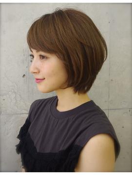 銀座アフロート ミセスに似合うひし形小顔美シルエットボブ