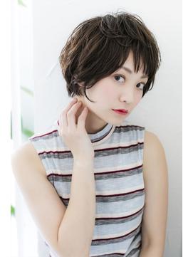 ルーズカールショートボブ/ハンサムショート【池袋東口店】