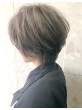 【堀惠洋平】透け感カラー 20代30代 大人ハンサムショート .17
