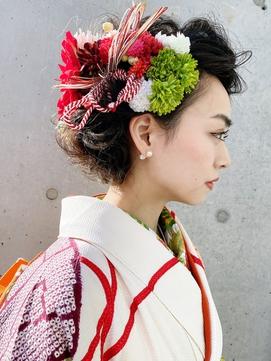 【LA PENSEE】和服美人のモダンなヘアセット★