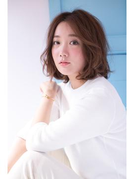 [shiomi H]  セミウェットウェーブボブ