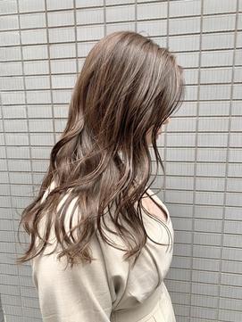 #アッシュブラウン #ミルクティー #美髪 #イルミナ/アディクシー