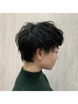 外国人風エッジショート【心斎橋 心斎橋駅 学割U24】