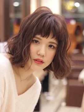 M.SLASH馬車道/オン眉/くせ毛風/ヨシンモリ/エアリーミディz2