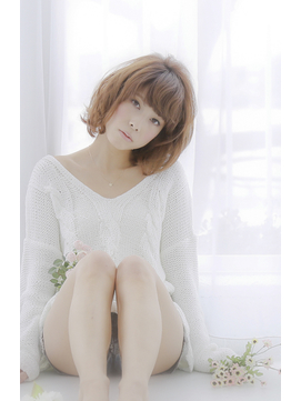 スウィングショートボブ★【hair resort Ai北千住】