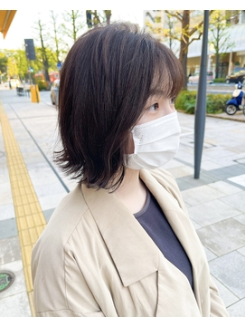 【Feria松山】大人の外はねボブ☆白石