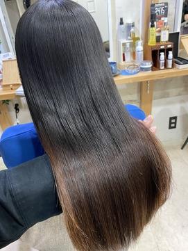 パサつく髪をジュエリーシステム×縮毛矯正でつやっつやの艶髪♪