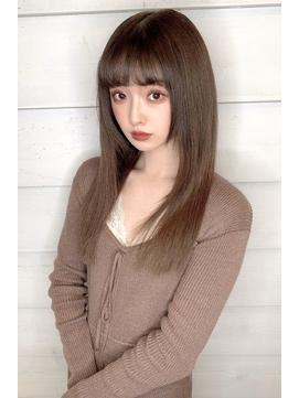 《New-Line 代表YUTAKA》褒められ髪ツヤ髪ストレート