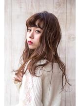 ☆バイオレットピンク&グラデーションの小悪魔ロングウェーブ☆ 小悪魔.37