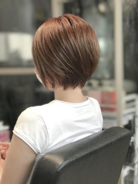 【Dio Azabu】40代からのショートボブ&イルミナカラー白髪染め