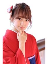 ☆卒業式袴スタイル☆ロブでもアップ カチューシャ.52