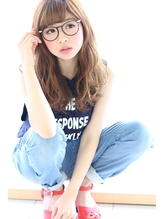 厚めバング×ドライウェーブで女子力UP♪【feuille中村大輔】 女子力.31