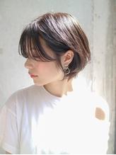 【DaVin中目黒】 大人かわいい 小顔ボブ 丸みショートボブ.56