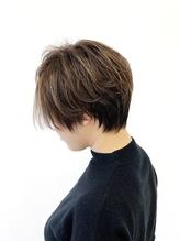 【JEANAHARBOR後藤】オフィスでもOKな極細ハイライトカラー!!.46