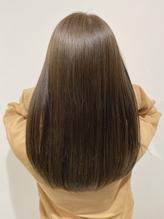 髪質改善 13stepトリートメント ロングヘア ベージュカラー.24