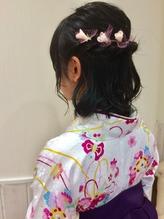 卒業式袴着付 ヘアセットメイク【sola:neolive 相模大野店】.5