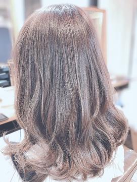 【大人かわいいヘア】オータムベージュ