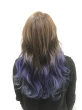 【blue purple/グラデーション】:MORO.32