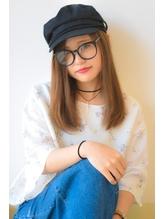 帽子とメガネとストレート メガネ.26