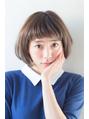 新垣結衣サン風コンパクトな小顔ショートボブ