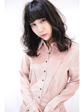 【Nosh】大人かわいい ふわミディスタイル.58