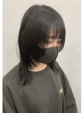 【Anli】ウルフカット×ブラック