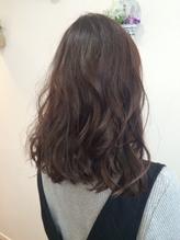 【Baton HAIR】フォギーベージュ×ゆるふわミックス.40