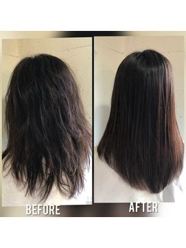 トリートメント髪質改善