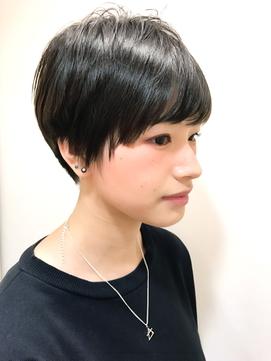 黒髪オトナショート【RENJISHI 松岡】