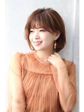 『estrela』大人可愛い丸みショートボブディ 3Dカラー.34