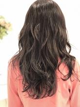 透明感暗髪カラー.20