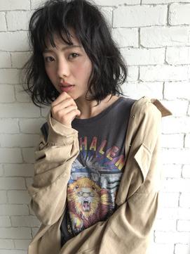 ゆるふわ × 黒髪ボブ #CLOCKLESS伊勢崎
