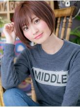 *+COVER HAIR+*…大人かわいいピュアガーリー 小顔マッシュボブe 小頭.24