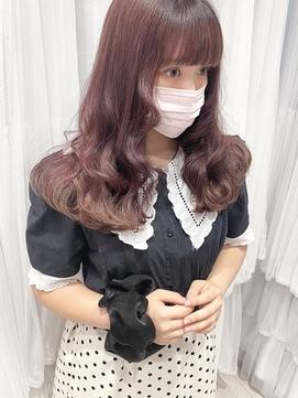 【Euphoria Risa】10代20代☆チェリーピンク♪フレンチガーリー
