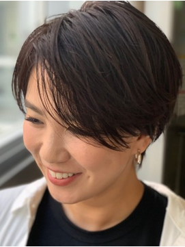 【札幌G grow】大人ハンサムショート×ステップボーンカット