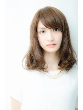 ☆la tienne☆~ふんわりバングの夏ミディ~